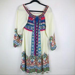 Flying Tomato Aztec Print Dress